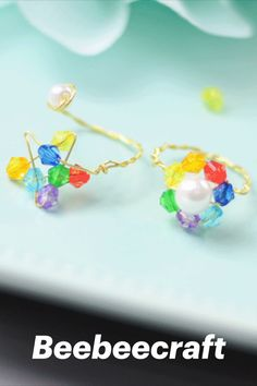 #Beebeecraft excellent idea on making DIY colorful #rings with #glassbeads. #jewelry #jewelrymakingsupplies #supplies #crafts #diy #jewelrymaking Jewelry Making Beads, Jewelry Making Supplies, Bee Crafts, Diy Rings, Color Ring, Buy Cheap, Colored Glass, Glass Beads, Unique