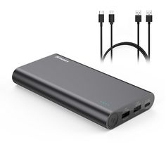 Jackery, USB C Portable Charger Power Banks For IPhone 7 & 7 Plus, Jackery Titan S Total Output Qualcomm Quick Charge External Battery New Macbook, Portable Charger, Electronics Gadgets, Cell Phone Accessories, Iphone 7, Usb, Samsung, Banks, Ebay