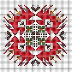 Безплатни схеми за бродерия: 2017 Embroidery Online, Embroidery Motifs, Hand Embroidery Designs, Cross Stitch Embroidery, Indian Embroidery, Small Cross Stitch, Cross Stitch Flowers, Tapete Floral, Funny Cross Stitch Patterns