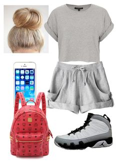 """""""Untitled #106"""" by asiaj5976 on Polyvore featuring Topshop, adidas and MCM"""