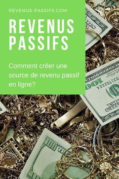 ⛱ Revenus Passifs by Lorenzo Martini Minimal, Passive Income, I Win, Earning Money, Fishing Line