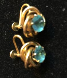 Vintage EARRINGS Bugby and Niles marked B & N by MOJEART on Etsy