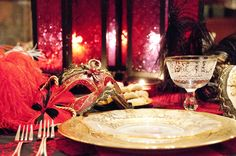 Queen Esther's table on   The Jewish Hostess