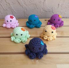 Crochet Amigurumi Octopus Kawaii Amigurumi por KingStitchStudios
