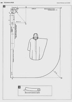 modelists books body: rus paterns Coat Patterns, Dress Sewing Patterns, Clothing Patterns, Fashion Sewing, Diy Fashion, Abaya Pattern, Clothing Store Displays, Sewing Alterations, Modelista