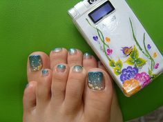 Pictures Of Toe Nail Designs