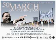Honoring the 50th Anniversary of the March on Washington: National Action Network Press Release - http://www.socialworkhelper.com/2013/08/20/honoring-the-50th-anniversary-of-the-march-on-washington-will-you-be-there/ via Social Work Helper