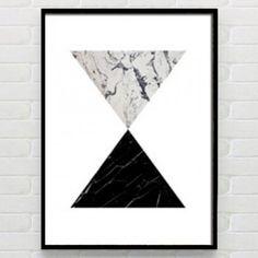 Quadro Equilíbrio Preto e Branco by Print & Co