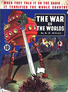 War of the Worlds - Dell Publishing, 1938