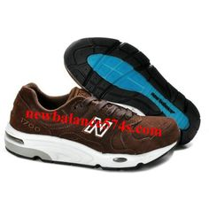 more photos 3c201 4822d Discount New Balance NB Khaki coffee White Brown For Men shoes Casual shoes  Shop