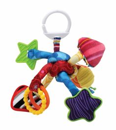 Lamaze Push and Pull Toy, Tug and Play Knot #AlbeeBaby