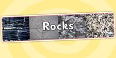 This photo display banner is the perfect resource to head your display with! With four outstanding photos placed on this Rocks banner, it's a bright and colourful resource that will attract the eye! Display Banners, Photo Displays, Seaside, Rocks, Stone, Batu, Stones