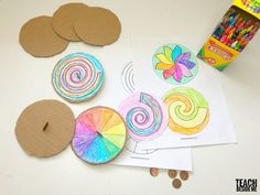 STEM Toy: Penny Spinners - Teach Beside Me