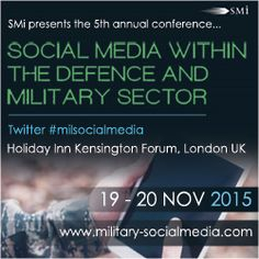 awesome Exclusive interviews with new 77th Brigade member and Italian Naval Staff College on social media within the military domain