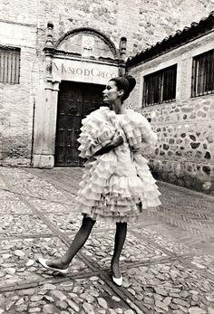 Model photographed by Sharok Hatami, 1965.