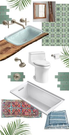 Inspiration and Design for Bathroom Remodel No. 2 with @Kohlerco #KohlerIdeas