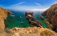 Si no sabes si estás en el mar o en el cielo, estás en las islas Berlengas