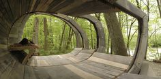 """Ten Top Images on Archinect's """"Wood"""" Pinterest Board 