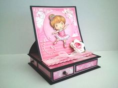tutorial make box with drawers -