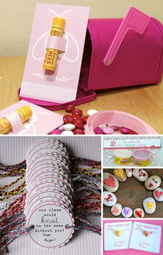 50 Ideas for Making Your Own Valentines-- a lot of cute ideas I haven't seen before.  My kids are big, but I think some of these would still make them smile. Several of these would be cute surprises to hide around the house for each other in the days leading up to Valentines day.