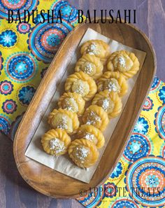 Badusha/Balusahi is a classic indian sweet made with all-purpose flour, butter and sugar syrup