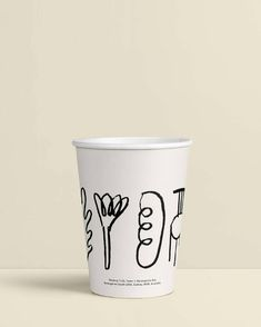 Foolscap project Food Branding, Cafe Branding, Cafe Logo, Brand Packaging, Packaging Design, Branding Design, Printed Coffee Cups, Cafe Display, Cafe Cup