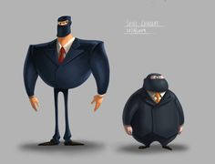 10 Spectacular Spy Designs, incl. this one by bramLeech