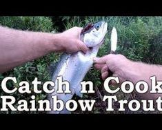 Catch n Cook Fish | Rainbow Trout | Beyond Survival | The Wilderness Living Challenge 2017 | S02E05