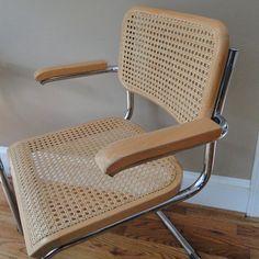 Vintage Chairs Marcel Breuer Inspired Eames Era by BelatedDesigns, $330.00