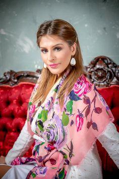 Digital Printed Scarves Silk Scarves