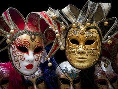 #Venice - #CarnivalMasks  For more great pins go to @KaseyBelleFox