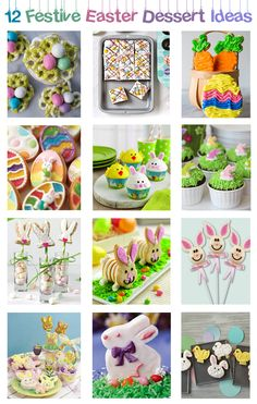 Every bunny with love these Easter dessert ideas! | Nothing is better than Easter sweets, make your own with these tutorials | Pin now read later!