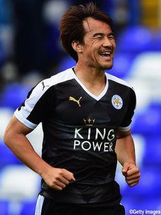 Shinji Okazaki - Leicester City F.C. - FW - #Okazaki #EnglishPremierLeague…