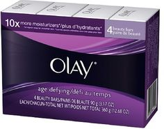 Olay Age Defying Beauty Bars, 4 Pack 12.68 oz