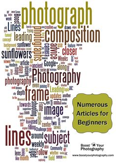 Top Tips and Numerous Articles For Beginning Photographers | Boost Your Photography