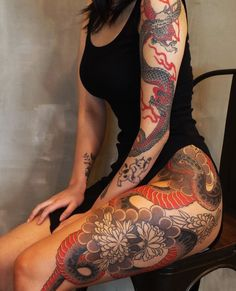 Shared by 𝐒𝐂𝐎𝐑𝐏𝐈𝐎 𝐕𝐈𝐗𝐄𝐍. Find images and videos about black, red and Tattoos on We Heart It - the app to get lost in what you love. Dream Tattoos, Badass Tattoos, Sexy Tattoos, Body Art Tattoos, Tribal Tattoos, Sleeve Tattoos, Dope Tattoos For Women, Full Leg Tattoos, Future Tattoos