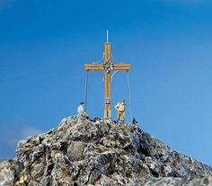 Summit cross scene. Just plain cool.