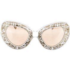 Karen Walker Lucite Cat-Eye Sunglasses (9.630 RUB) ❤ liked on Polyvore featuring accessories, eyewear, sunglasses, clear, logo sunglasses, mirrored lens sunglasses, mirrored cat eye sunglasses, clear sunglasses and mirror lens sunglasses