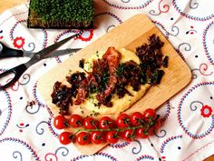 Gourmet Balance - explore and enjoy: Healthy breakfasts: Polenta with mushrooms and pan...