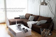 Estilo nórdico y sofá marrón???? | Decorar tu casa es facilisimo.com