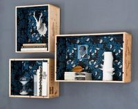 Wine Crate Display Cases