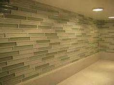 Glass Tile Backsplash  -green tones  -blue tones  -beige/brown tones