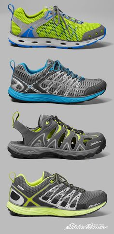 Fitness addicts will love this footwear for any Adventure, from Eddie Bauer.