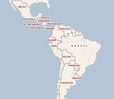 coches de alquiler américa latina, américa del sur, centroamérica, américa central - cochera-andina.com