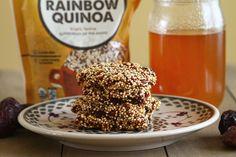 Quinoa Breakfast Bars @sugarcrafter  lots of good grains for sure!