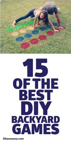 15 Best DIY Backyard Games