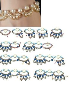 easy diy pearl necklace models will yourself in the desired sizes and colors you want or you can do this by using beads pearl necklace d. Seed Bead Necklace, Diy Necklace, Seed Beads, Pearl Necklace, Pearl Bracelet, Pendant Necklace, Beaded Necklace Patterns, Beaded Bracelets, Bead Patterns