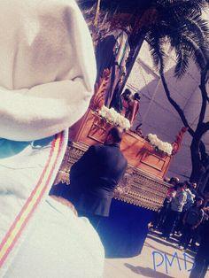 Fotografía de Patricia Muñoz Diestro. Domingo de Ramos -Ciudad Real-. Realizada con móvil