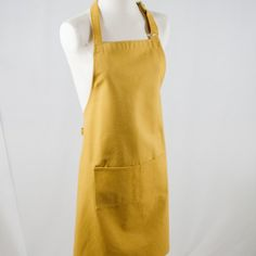 Three Tines apron - eco-friendly, sustainably made kitchen and table linens.