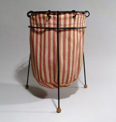 // striped laundry basket @eastsidebride